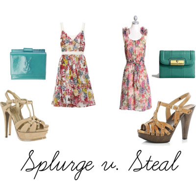 Splurge v. Steal – Spring Fashion
