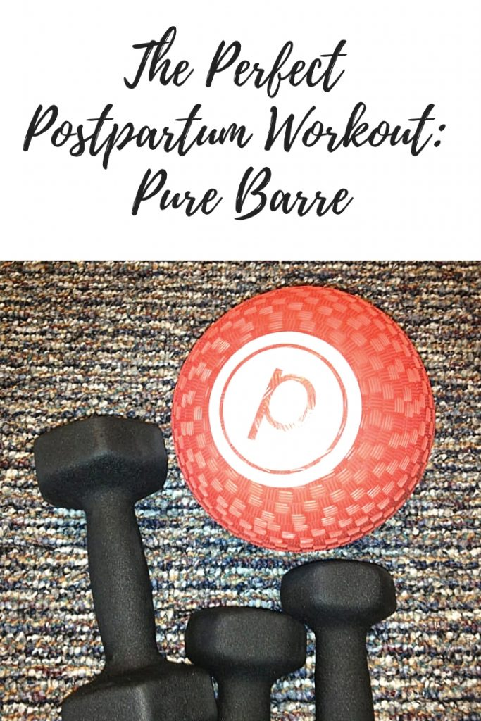 Pure Barre is the Perfect Postpartum Workout Program
