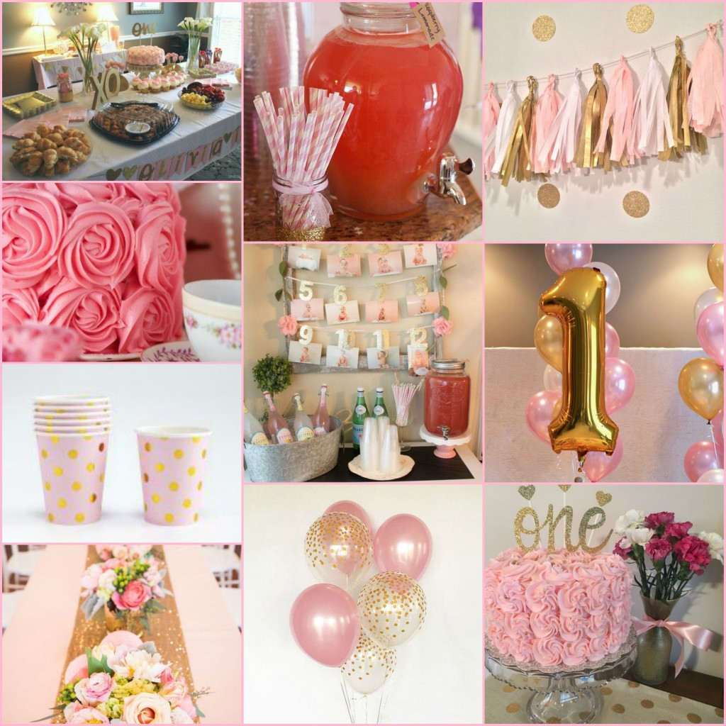 Blakely's First Birthday Inspiration