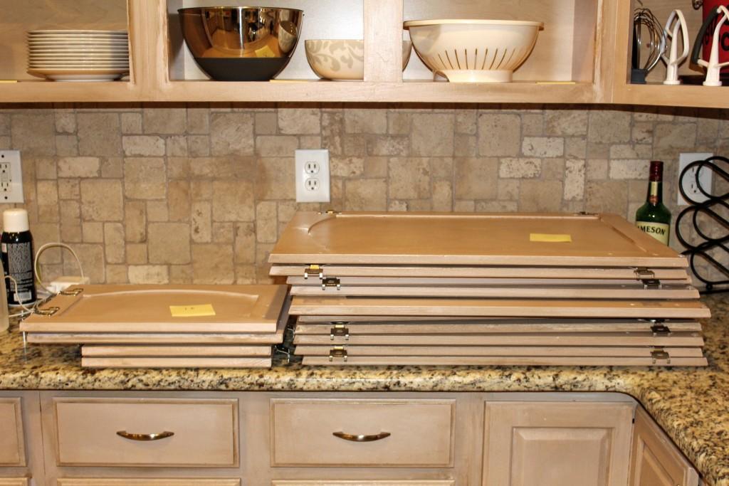 kitchen cabinet refresh on a budget