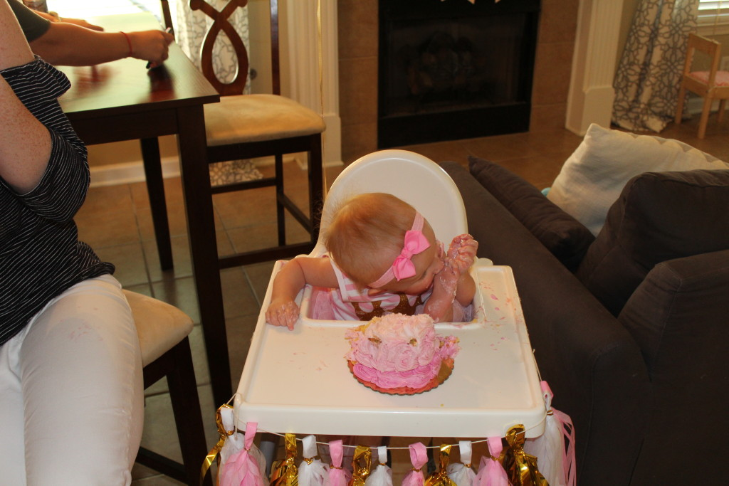 Blakely S First Birthday Party Dreams Coffee