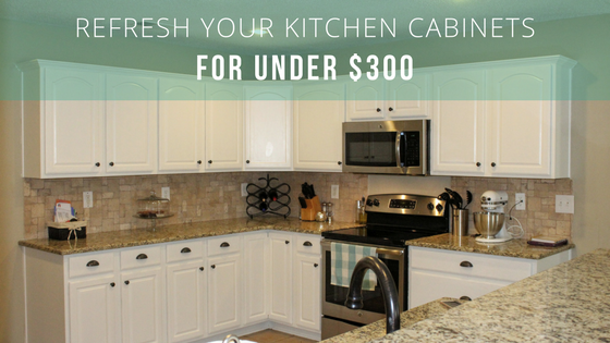 How We Refreshed Our Kitchen On A Budget Of 300
