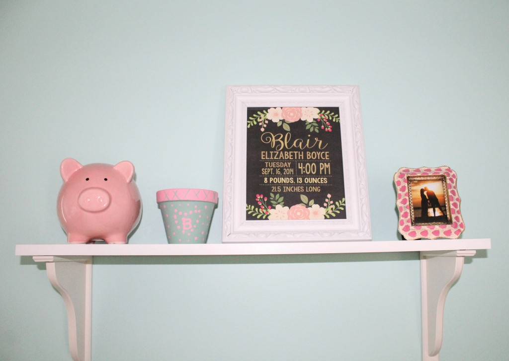 Girly toddler bedroom