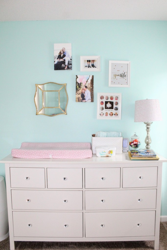 Girly toddler bedroom