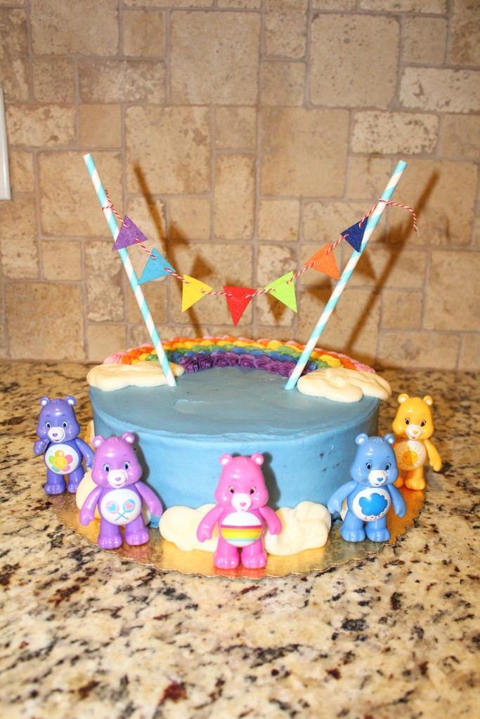 Rainbow and Care Bear Birthday Party