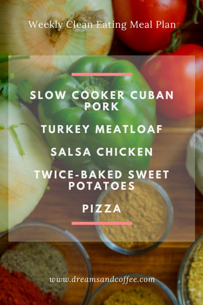 Weekly Meal Plan Series