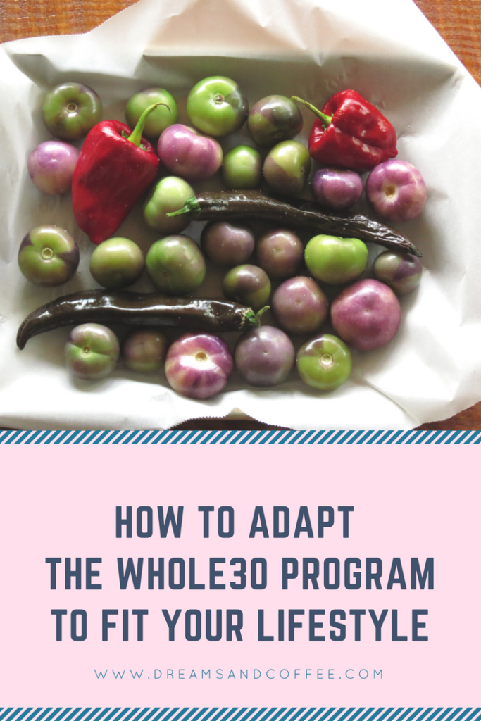 Adapt the Whole30 Eating Plan to Your Lifestyle
