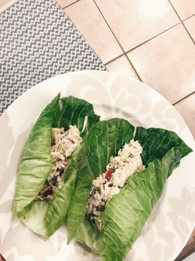whole30 eating plan chicken salad