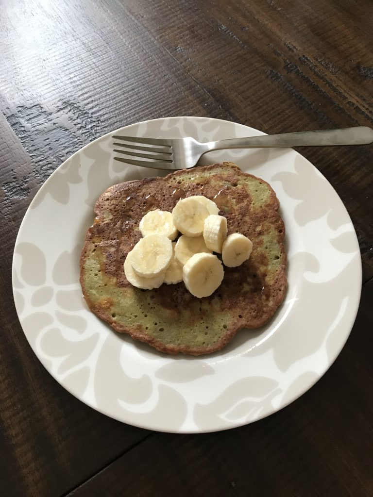 Whole30 eating plan pancakes