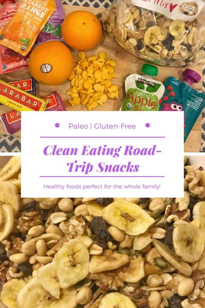 healthy clean eating snacks for road trips