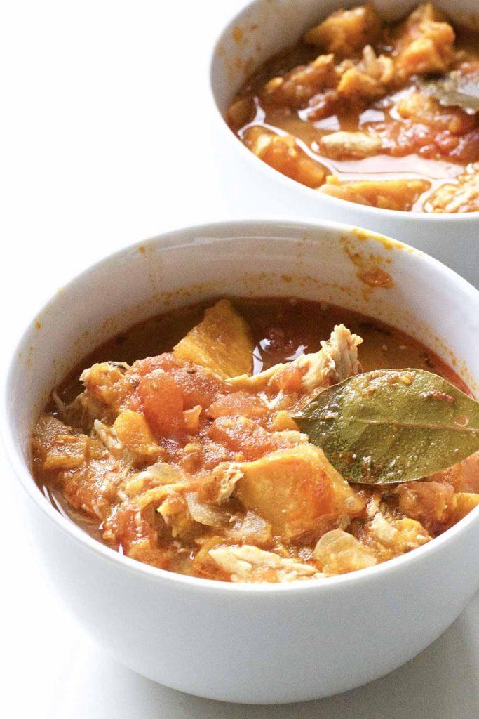 Chicken Sweet Potato Stew Recipe