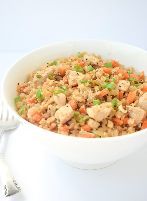 Clean Eating Meal Plan - Chicken Fried Rice