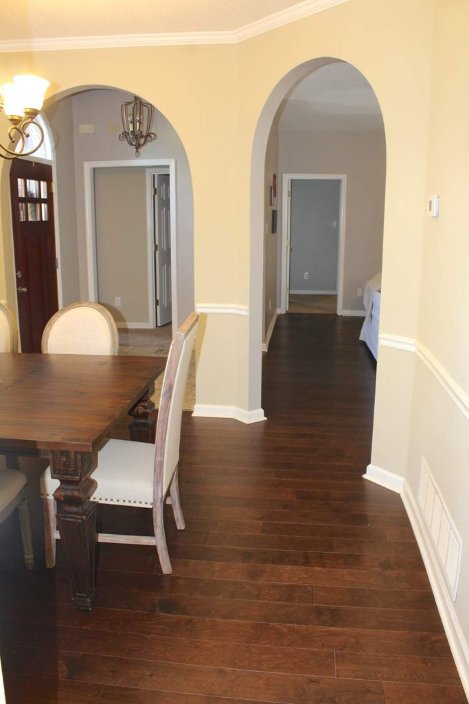 New Hardwood Flooring Installed Living Room Amp Dining
