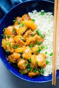 Orange Chicken Clean Eating Meal Plan