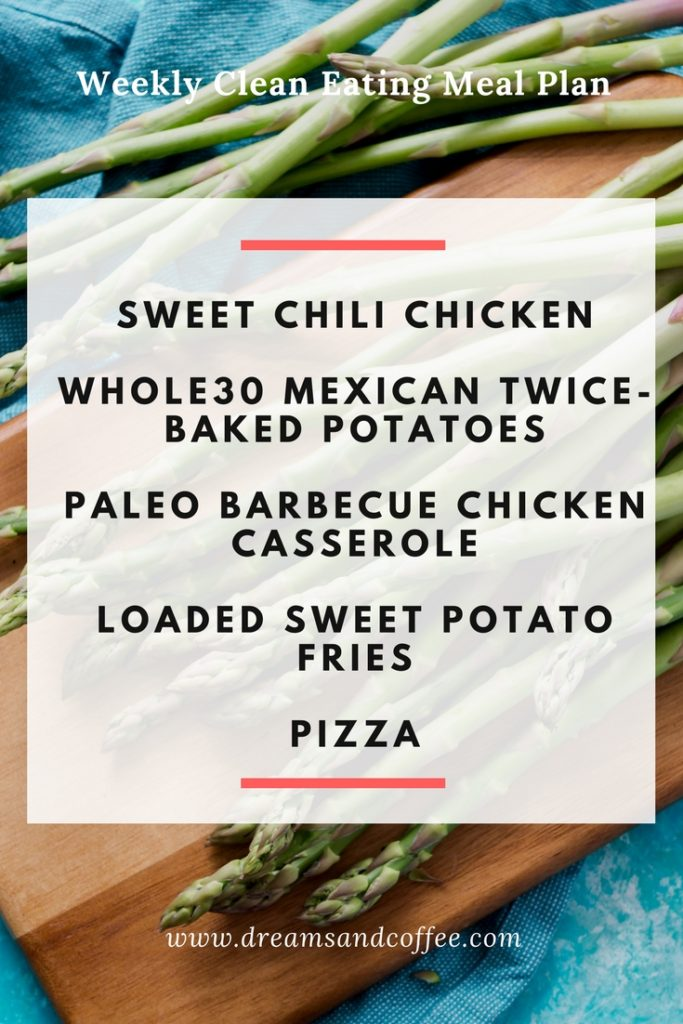 Clean Eating Meal Plan - Paleo - Whole30
