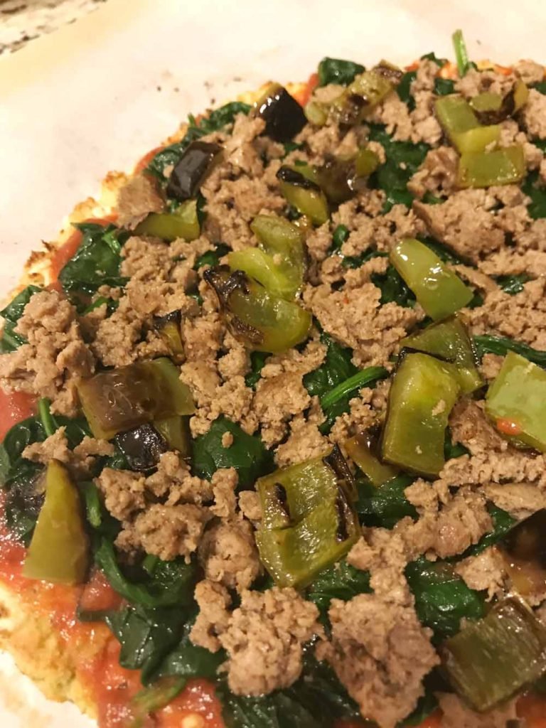 Healthy Cauliflower Pizza Crust Recipe