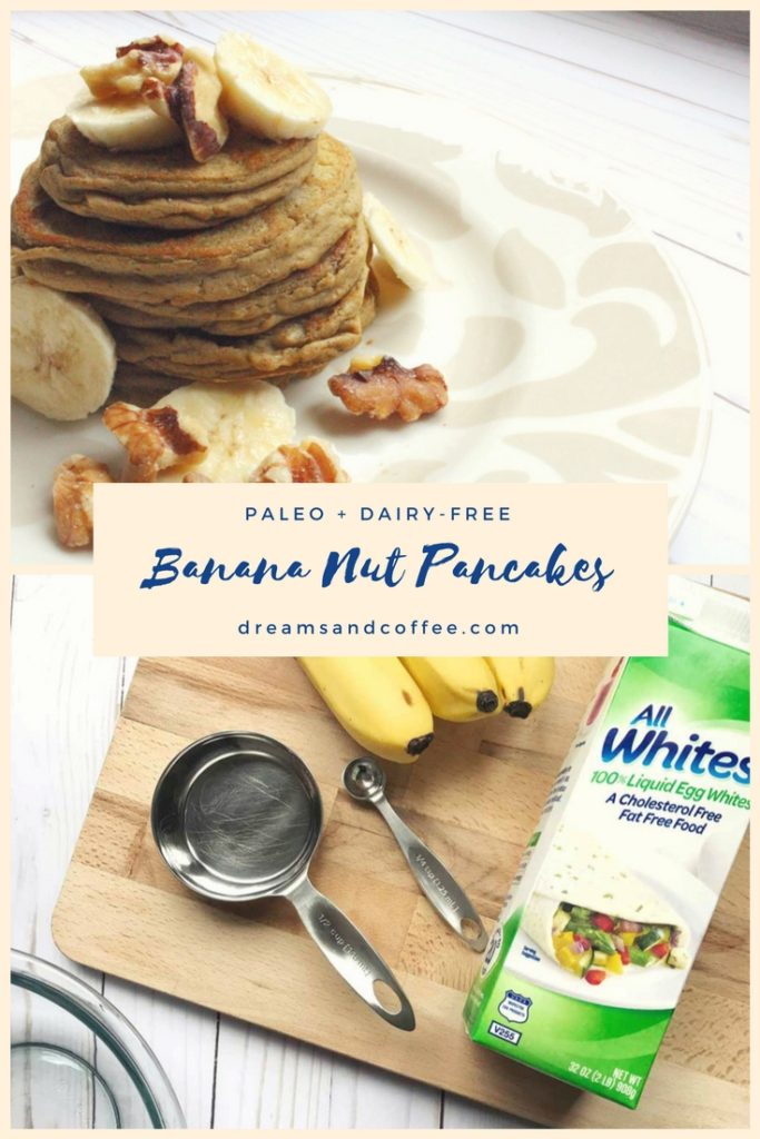 Paleo Banana Nut Pancakes Recipe