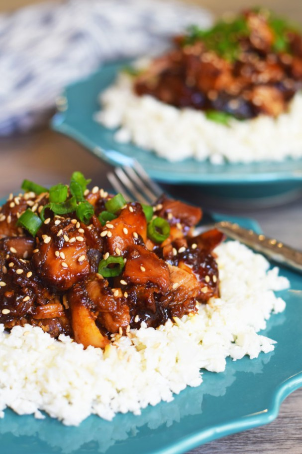Paleo Teriyaki Chicken Clean Eating Meal Plan