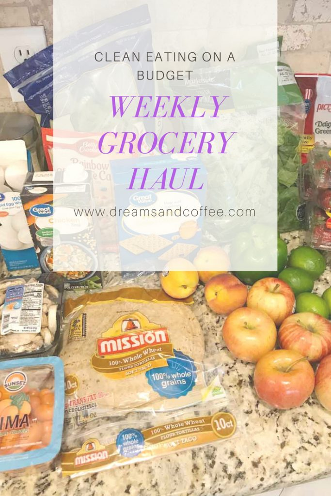 Weekly Clean Eating Healthy Grocery Haul