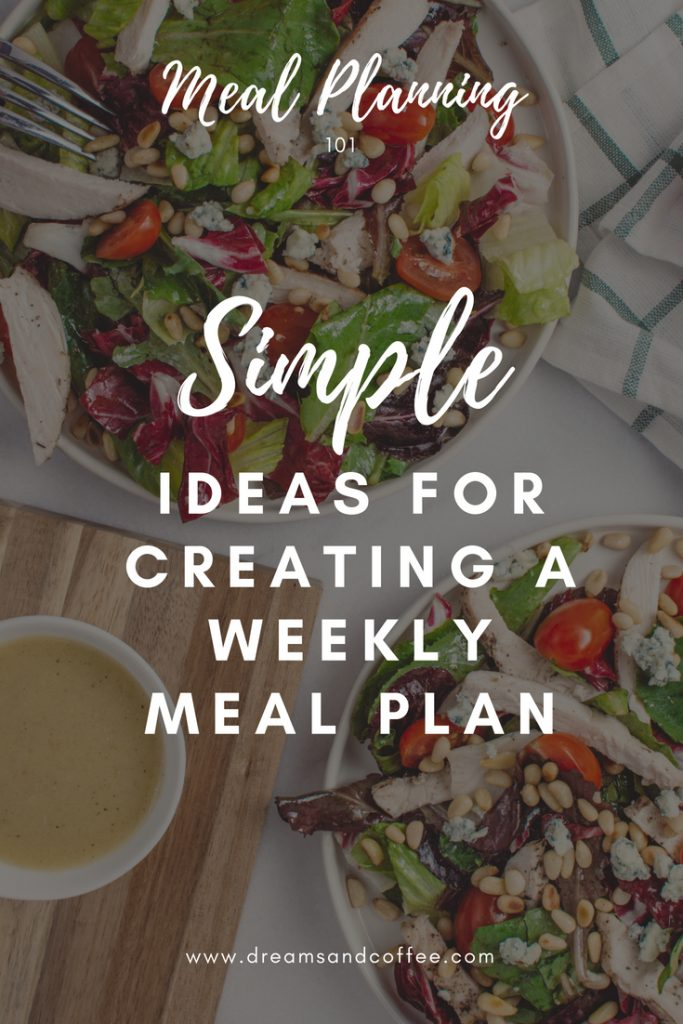 Create a healthy meal plan for the week
