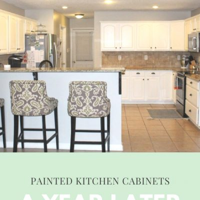 DIY Painted Cabinets a Year Later: What I'd Do Differently