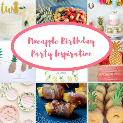 Pineapple Birthday Party Inspiration   Blakely Turns Two