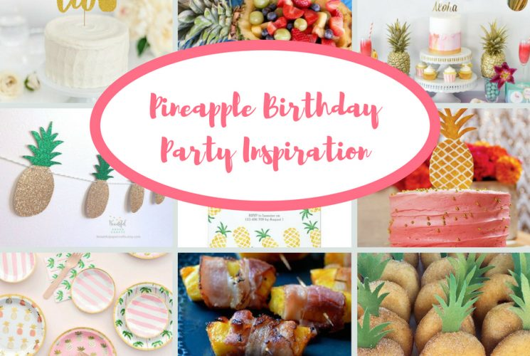 Pineapple Birthday Party Inspiration | Blakely Turns Two