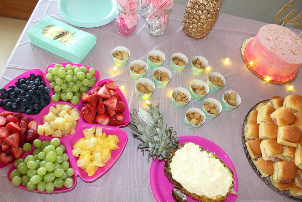Pineapple Birthday Party Ideas