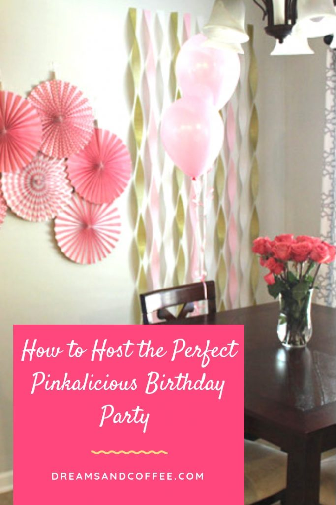 The Perfect Pinkalicious Birthday Party