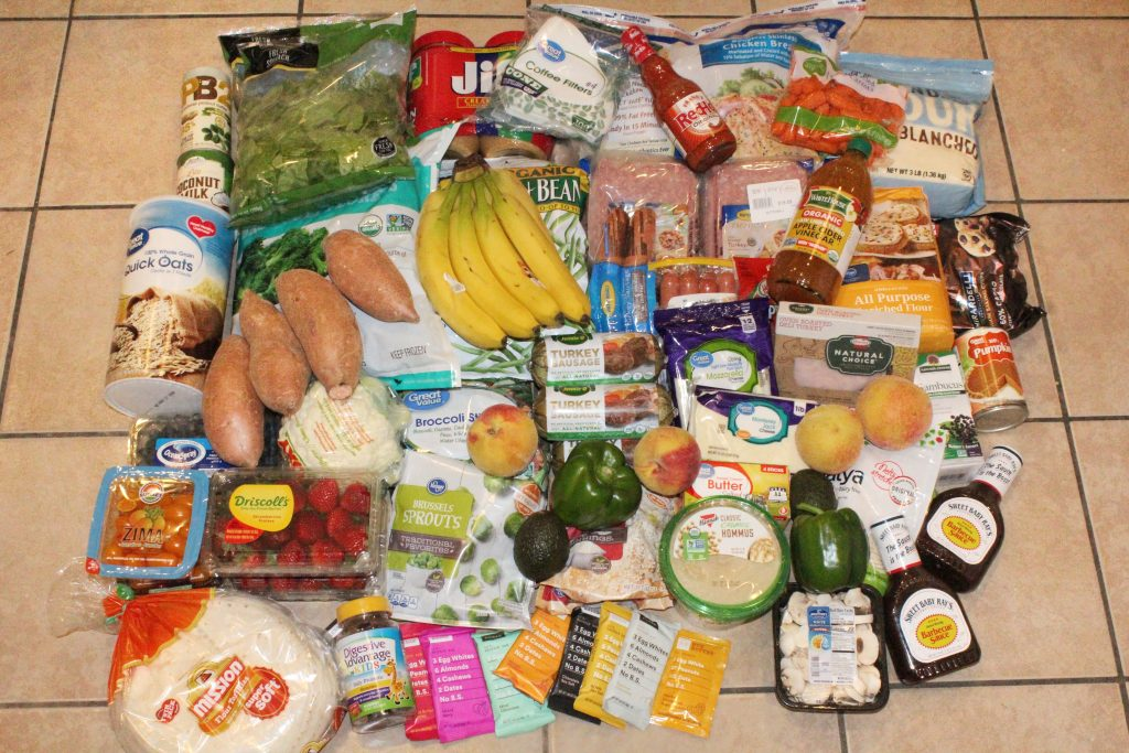 Healthy Grocery Haul for a Family of Four