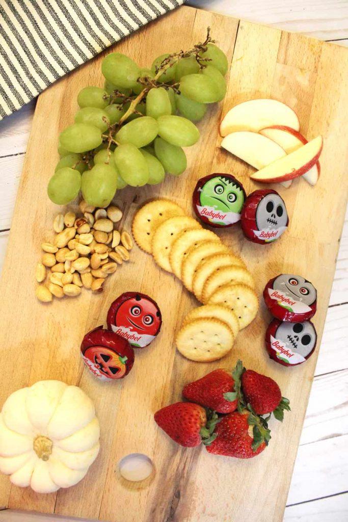 Halloween Snacks with Mini Babybel