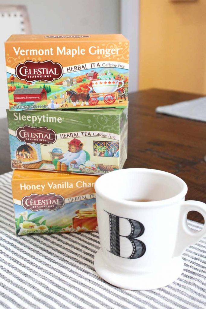 Healthy Fall Routine with Celestial Seasonings