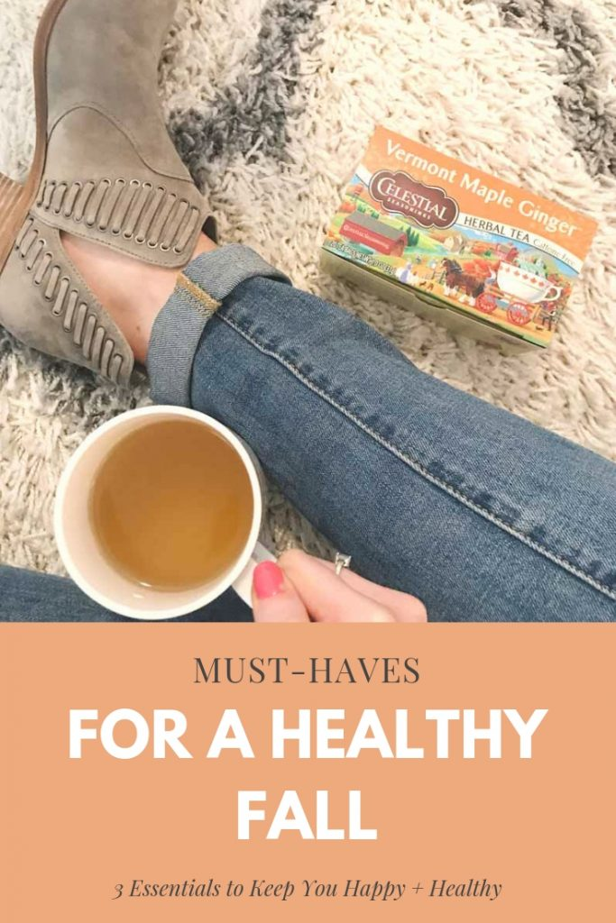 Create a Healthy Fall Routine with Celestial Seasonings