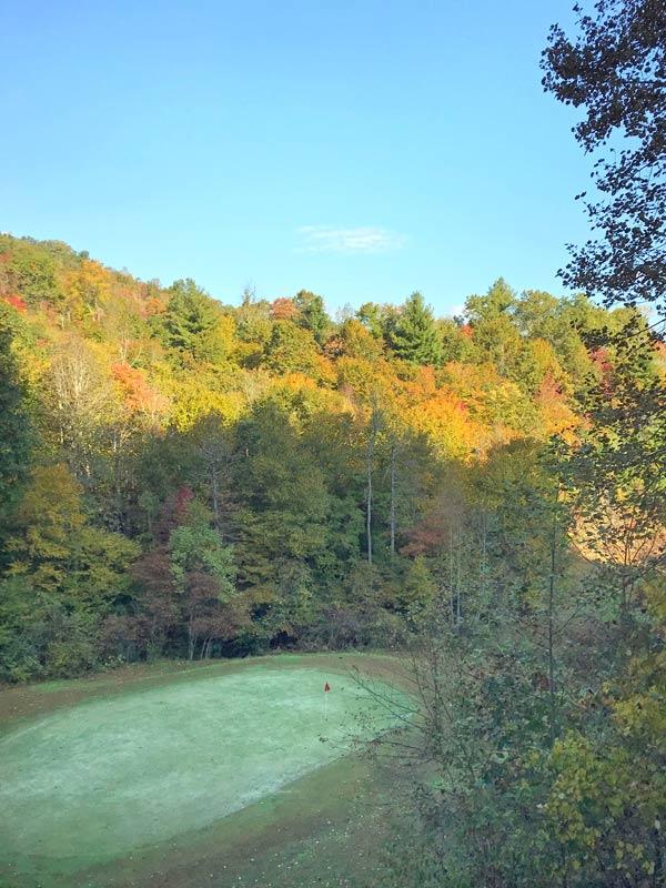 Smoky Mountains of North Carolina Fall Vacation