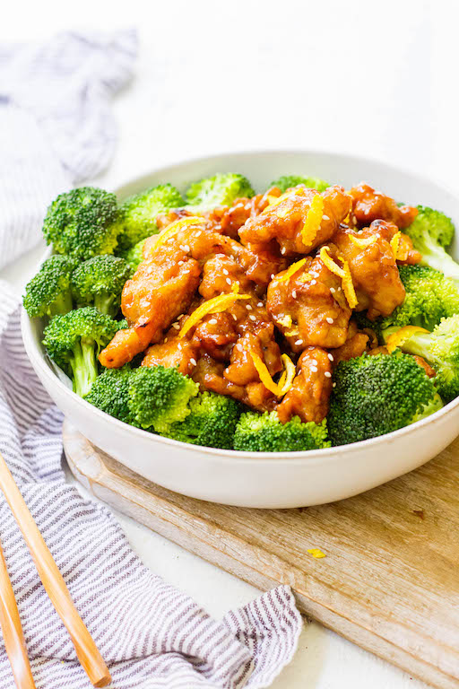 Whole30 Orange Chicken Recipe