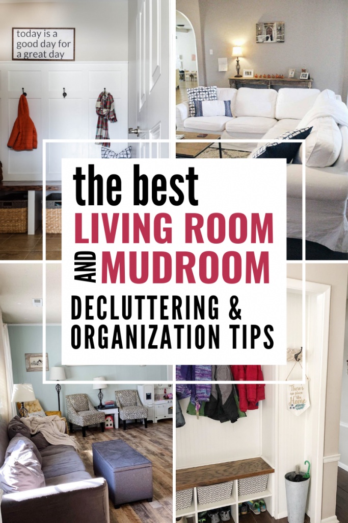 Clear the Clutter Challenge Week Two: Living Rooms + Closets