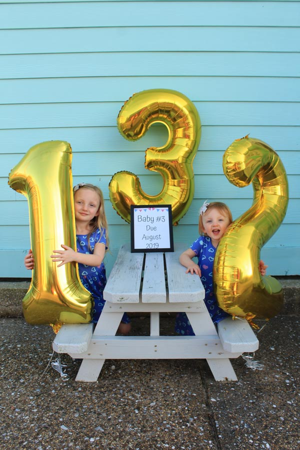 Baby Number Three Is On the Way - Pregnancy Announcement