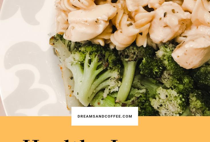 Healthy Lemon Chicken Pasta | High-Protein + Gluten-Free