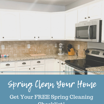 Join the Spring Cleaning Challenge + FREE Checklist!