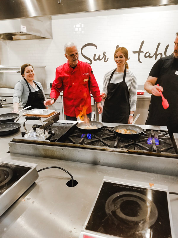 Take a Cooking Class at Sur la Table