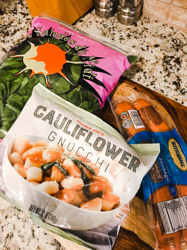 Sausage and Cauliflower Gnocchi Skillet Recipe
