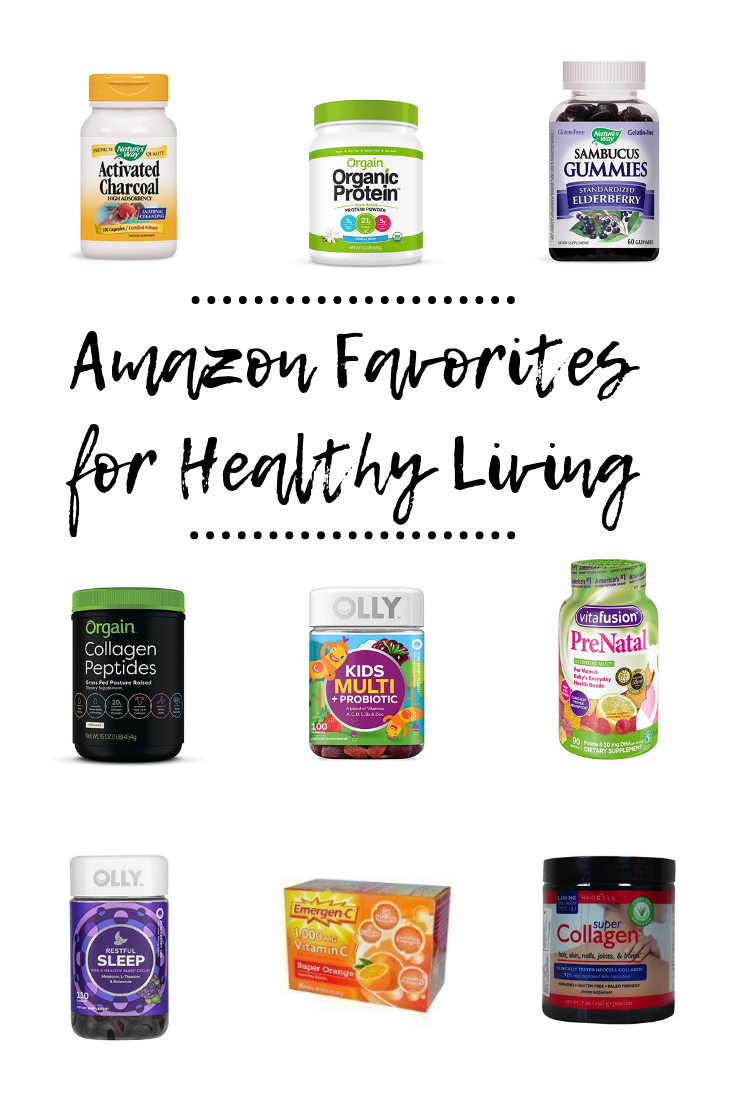 Amazon Favorites for Healthy Living | Vitamins and Supplements Available on Amazon Prime