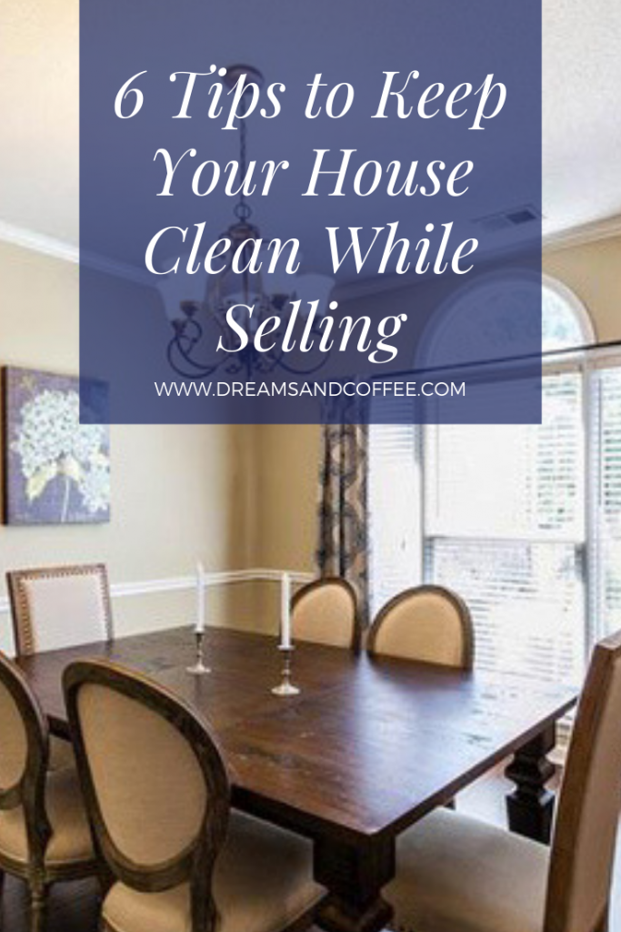 How to Keep the House Clean While Selling