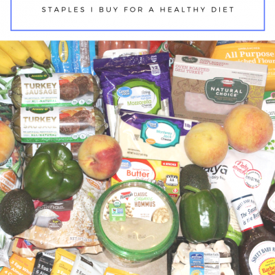 What's On My Weekly Grocery List | Healthy Eating