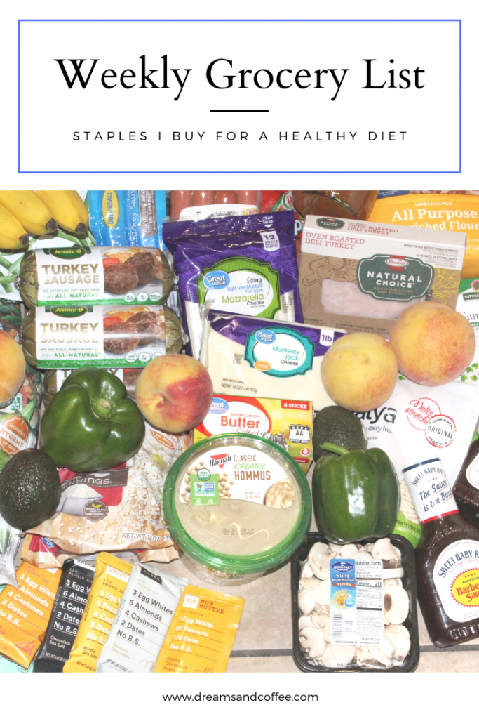 Weekly Grocery List | Healthy Staples I Keep Stocked In Our Home