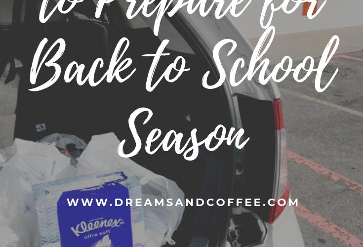 Three Ways I'm Preparing for Back to School Season Before Baby Arrives