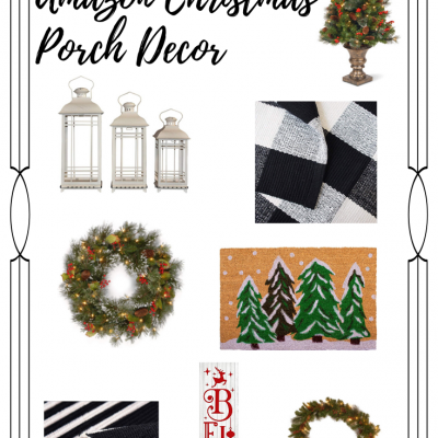 Budget-Friendly Amazon Christmas Porch Decor