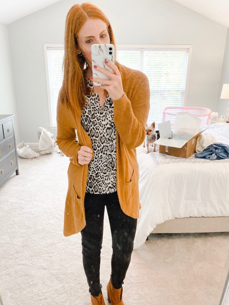 stitch fix try on + review