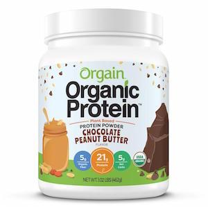 Orgain Chocolate Peanut Butter Protein Powder