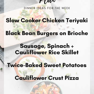 Meal Plan Monday #2 | Clean Eating Dinner Ideas